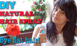 HAIR SPRAY FOR VOLUMINOUS HAIR