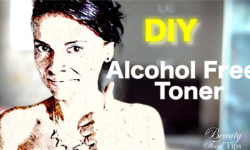alcohol free toner diy