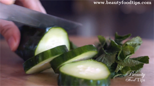 DIY cucumber beauty tips