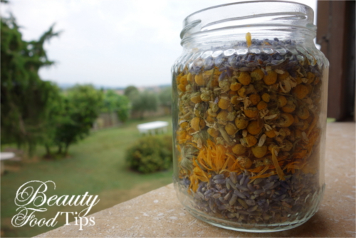 lavender chamomille calendula herbal infused oil