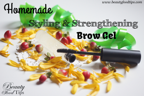 styling & strengthening brow gel
