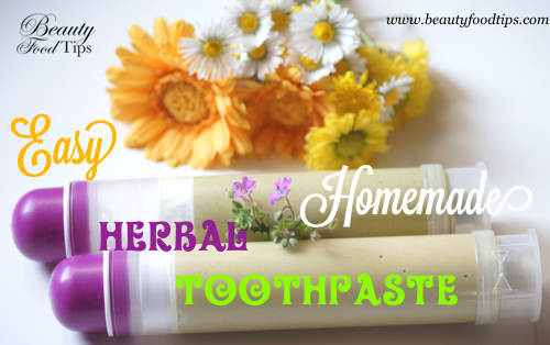 HERBAL HOMEMADE TOOTHPASTE BFT