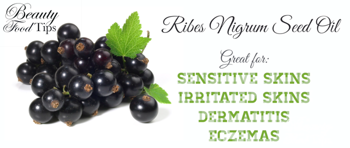 Black currant seed oil acne removal
