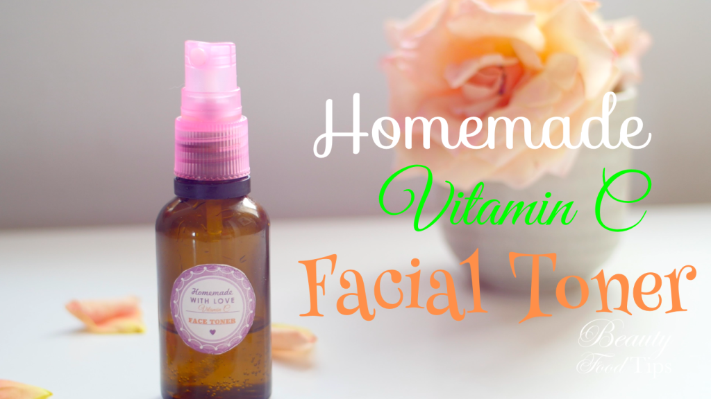 homemade vitamin c facial toner